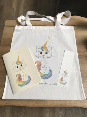 Lot chat -licorne